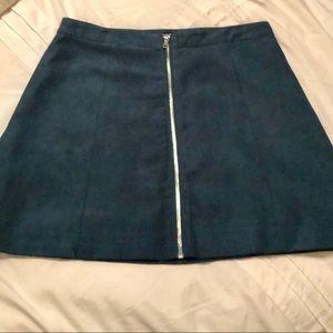 Green blue Aline skirt 👗